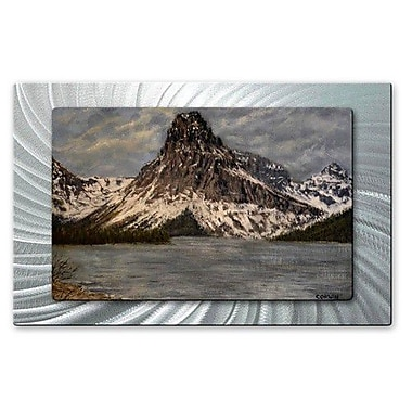 All My Walls 'Sinopah' by James Corwin Painting Print Plaque