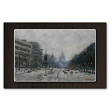 All My Walls 'Washington D.C.' by James Corwin Painting Print Plaque