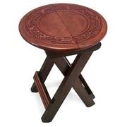 Novica 14.2'' Oval Folding Table