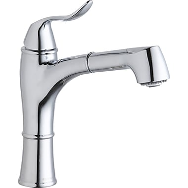Elkay Explore Single Handle Pull Out Kitchen Faucet