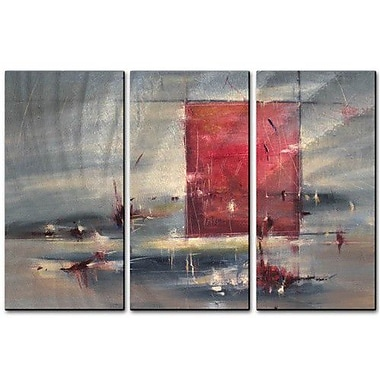 All My Walls 'Moonlit Summer' by Cynthia Ligeros 3 Piece Painting Print Plaque Set