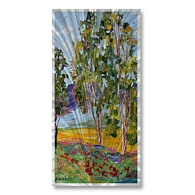 All My Walls 'California Summer' by Karen Tarlton Painting Print Plaque