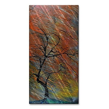 All My Walls 'Wildfire' by Daniel MacGregor Painting Print Plaque