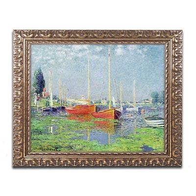 Trademark Global Claude Monet 'Argenteuil' Ornate Framed Art 16