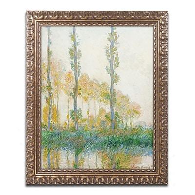 Trademark Global Claude Monet 'The Three Trees Autumn' 16
