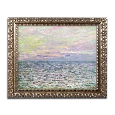 Trademark Global Monet 'Coucher de Soleil a Pourville' Ornate Art, 16