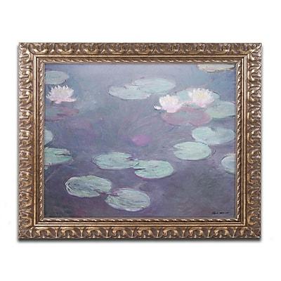 Trademark Global Monet 'Pink Lilies 1897-1899' 16