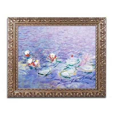 Trademark Global Monet 'Water Lilies II 1840-1926' Ornate Framed Art, 16