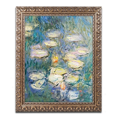 Trademark Global Monet 'Water Lilies V 1840-1926' 16