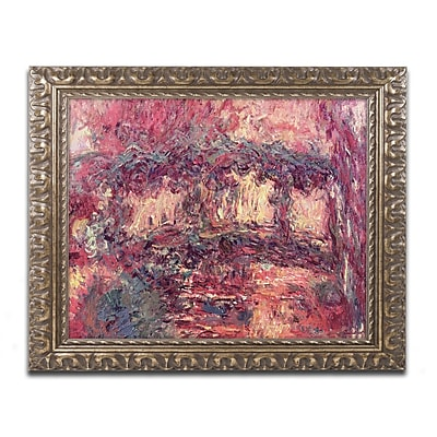 Trademark Global Monet 'Japanese Bridge at Giverny 1923' 16