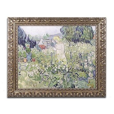 Trademark Global Vincent van Gogh 'Mademoiselle Gachet' Ornate Art, 16