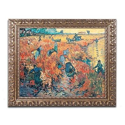 Trademark Global van Gogh 'Red Vineyards at Arles 1888' 16