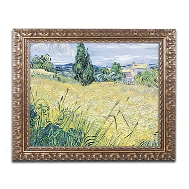 Trademark Global van Gogh 'Landscape with Green Corn 1889' 16