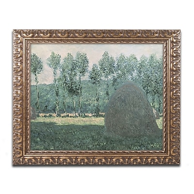 Trademark Global Monet ' Haystacks near Giverny 1884-89' 16