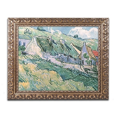 Trademark Global van Gogh 'Cottages at Auvers-sur-Oise' 16