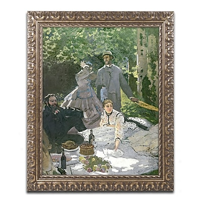 Trademark Global Monet 'Dejeuner sur l'Herbe Chailly' 16