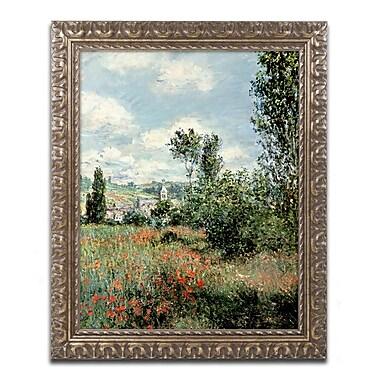Trademark Global Monet 'Path through the Poppies' 16