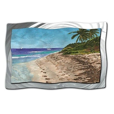 All My Walls 'BVI Morning' by Keith Wilke Painting Print Plaque