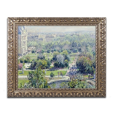 Trademark Global Monet 'View of the Tuileries' Ornate Art, 16