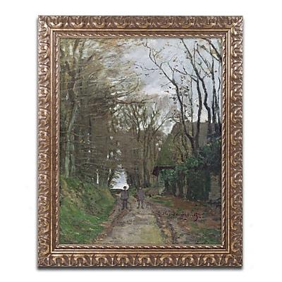 Trademark Global Monet 'Path in Normandy' 16
