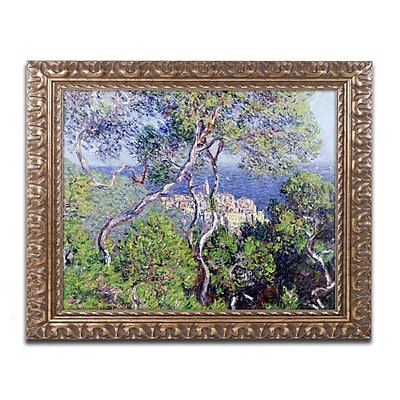 Trademark Global Monet 'Bordighera 1884' Ornate Art, 16