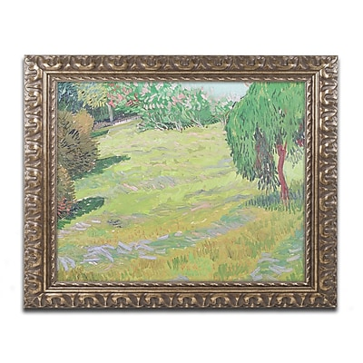 Trademark Global Vincent van Gogh 'Field in Sunlight' Ornate Art, 16