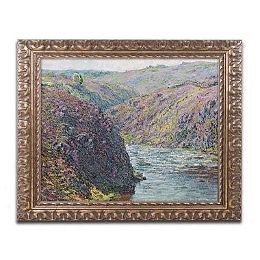 Trademark Global Monet 'Ravines of the Creuse' 16