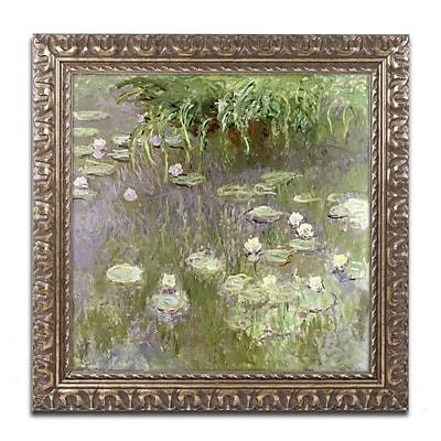 Trademark Global Monet 'Waterlilies at Midday' 16