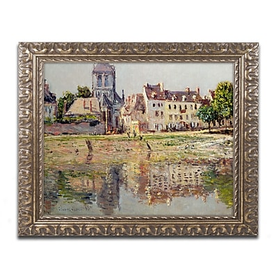 Trademark Global Monet 'By the River at Vernon' 16