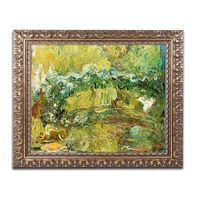 Trademark Global Monet 'The Japanese Bridge c.1918-24' 16