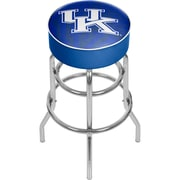 "Trademark Global University of Kentucky Chrome Bar Stool with Swivel, Fade, 31"" (KY1000-FADE)"
