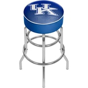 "Trademark Global 31"" University of Kentucky Bar Stool with Swivel, Reflection Chrome (KY1000-REF)"
