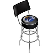 "Trademark Global 41.75""H University of Kentucky Wildcats Swivel Bar Stool with Back, Honeycomb (KY1100-HC)"