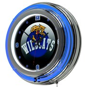 Trademark Global University of Kentucky Wildcats Chrome Double-Rung Neon Clock, HC (KY1400-HC)