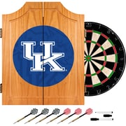 Trademark Global University of Kentucky Wood Dart Cabinet Set, Fade (KY7000-FADE)