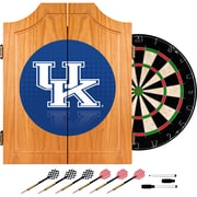 Trademark Global University of Kentucky Wood Dart Cabinet Set, Reflection (KY7000-REF)