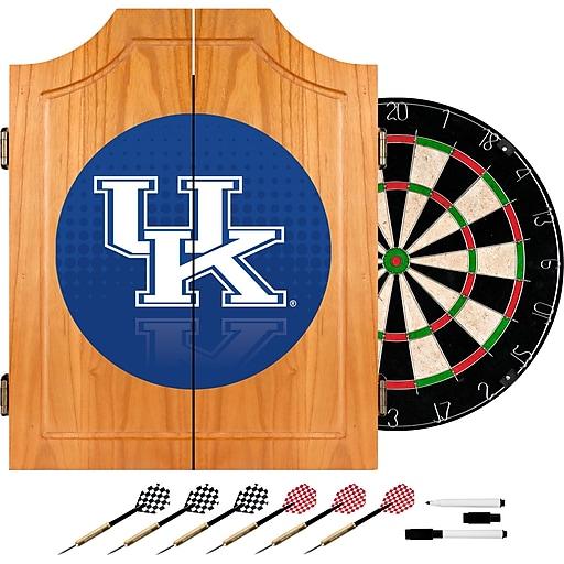 Trademark Global University of Kentucky Wood Dart Cabinet Set, Reflection (KY7000-REF)