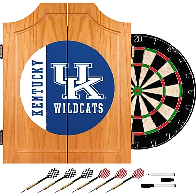 Trademark Global University of Kentucky Wood Dart Cabinet Set, Text (KY7000-TXT)