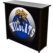 Trademark Global University of Kentucky Wildcats Portable Bar with Case, Honeycomb (KY8000-HC)