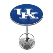Trademark Global University of Kentucky Chrome Pub Table, Reflection (KY2000-REF)