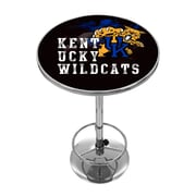 Trademark Global University of Kentucky Pub Table, Smoke Chrome (KY2000-SMOKE)