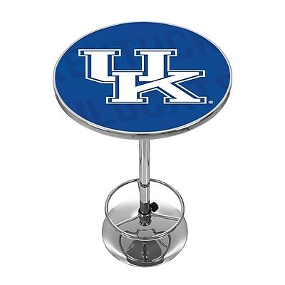 Trademark Global University of Kentucky Chrome Pub Table, Wordmark (KY2000-WM)