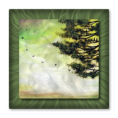 All My Walls 'Coming Home' by Matthew Hamblen Painting Print Plaque