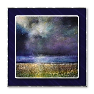All My Walls 'Glorylight' by Toni Grote Painting Print Plaque