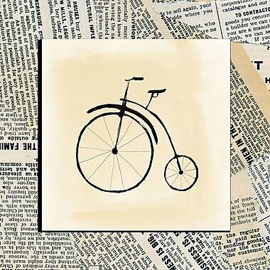 PTM Images Bike I Graphic Art; 16'' H x 12'' W x 1.5'' D