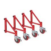 MetalTech Buildman Series Steel Scaffold Outriggers (Set of 4)