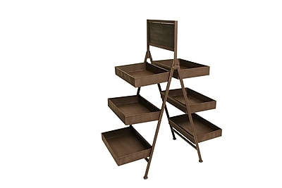 WaldImports Six Shelf Multi-Tiered Plant Stand