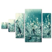 "Trademark Global Beata Czyzowska Young 'Under the Sea' Multi Panel Art Set, 24""L x 8""W (BC0024-P5-SET)"