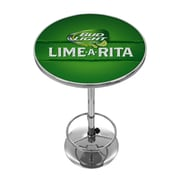 Trademark Global Bud Light Lime-A-Rita Chrome Pub Table (AB2000-LAR)