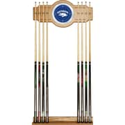 Trademark Global University of Nevada Billiard Cue Rack with Mirror (CLC6000-UN)